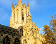 St Edmundsbury Cathedral in Suffolk